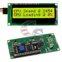 IIC/I2C/TWI 1602 Serial Yellow Backlight LCD Display For Arduino