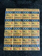 20 x Kodacolor  VR 1000 24 Exp 35mm Lomo ilford fuji  expired film