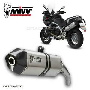 Exhaust MOTO GUZZI STELVIO 2012 2013 Speed Edge MIVV