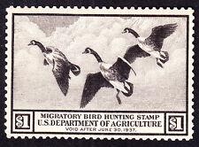 US RW3 $1 Duck Hunting Mint VF OG LH SCV $160