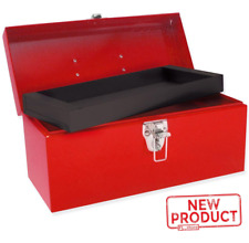 Metal Tool Box & Storage Tray Bin Heavy Duty Tools Parts Equipment Organizer NEW