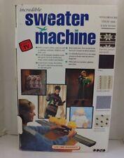 Bond incredible sweater machine, videos and accessories In original box