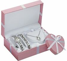 Limit Ladies' Silver Bracelet, Pendant and Watch Set Lovely Gift Set For Wife