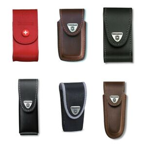 Genuine Victorinox pouch - Swiss army knife belt holster - various colours
