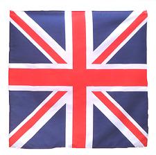 "United Kingdom UK Flag 21"" x 21"" (54cm x 54cm) Kerchief Head Scarf Bandana"
