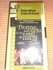 VHS Donne Sull'Orlo Di Una Crisi Di Nervi Pedro Almodovar Maura Antonio Banderas