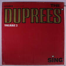 DUPREES: The Duprees Sing, Vol. 2 LP Sealed (ES) Vocal Groups