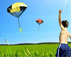 5 set Hand throwing parachute outdoor  Educational fun toy Boys Girls game