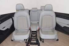 Audi A3 8V 12-15 Sedile in tessuto / pelle 3 anta Bracciolo grigio titanio