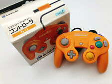 【Boxed】Nintendo Official GameCube controller Spice Orange F/S #0211A