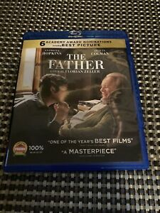 The Father (Blu-ray, 2021) Anthony Hopkins / Very good