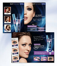 NEW MASCARA MAX VOLUME TWIST  01 NOIR VOLUME REGLABLE VALEUR 12,70 EUROS