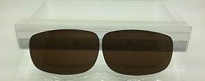 Kaenon Bolsa Custom Made replacement lenses Brown/Amber Polarized NEW