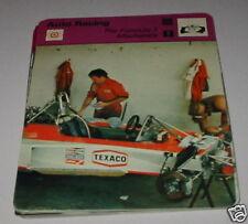 AUTO da corsa della formula 1 meccanici SC collector card
