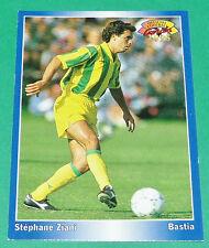 STEPHANE ZIANI FOOTBALL CARD 1994-1995 PANINI FC NANTES FCN CANARIS BEAUJOIRE