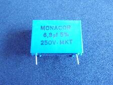 MONACOR CONDENSATORE Mkt 6,8uf 250v-amplificatori 13463