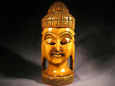 Hand Carved Buddha Head From India