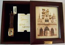 """Disney """"A TRIBUTE TO WALT DISNEY"""" Limited Edition Watch in Display Box RARE NIB"""
