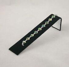 Pack of 4 Black Velvet Bracelet Watch Shop Display Ramps Jewellery Presentation