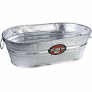 Behrens Manufacturing 001703 Galvanized Hot Dipped Oval Tub