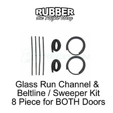 1961 - 1971 Dodge Truck Window Run Channel & Beltline Kit 8 pc.