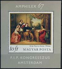 Ungheria 1967 SG #MS 2274 amphilex TIMBRO ESPOSIZIONE MNH M / S #D 2572
