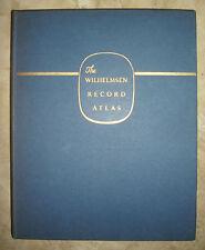 HAROLD FULLARD - THE WILHELMSEN RECORD ATLAS - 1962 GEORGE PHILIP & SON (BP)