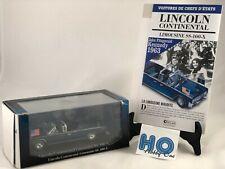 Voiture de chefs d'état - Lincoln Continental SS-100-X - 1/43 - Atlas - NEUVE