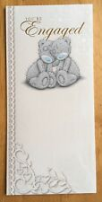 "'You're Engaged' Me to You Engagement Card - Tatty Bear - 8.25""x4"""