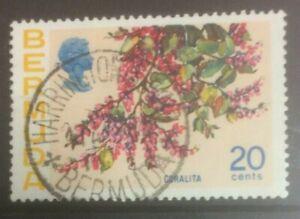 BERMUDA 1975 FLOWERS SG259a USED