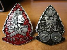 Navy Seal Team Six The Tribe Red Squadron SEALS DEVGRU SOCOM Challenge Coin