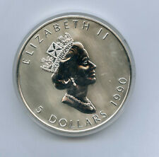 New ListingCanada Five Dollars $5 One Pound Fine Silver with Box