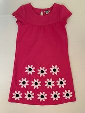 Heartstrings Girls Size 7 Pink Dress With Flowers Perfect for Summer!