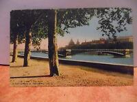 CPA ville de LYON - Les quais - Le pont Lafayette et l'Hôtel dieu