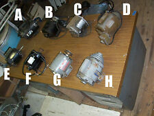 AC Electric Motor Sears Craftsman CenturY Choice sold Each per ad Pick Letter A-