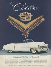 1952 Cadillac Original Advertisement: Featuring Jewels by Van Cleef and Arpels