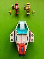 PLAYMOBIL Playmospace 3534 Set RAUMSCHIFF Space Shuttle Ship Box Figur 1980 ovp
