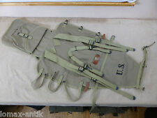 US Army ww2 m-1928 haversack tempesta bagagli + EXT. Pack Carrier TRAPEZIO rinnovo