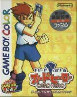 Nintendo GameBoy Color Spiel - Card Hero: Trading & Battle JAP mit OVP NEUWERTIG