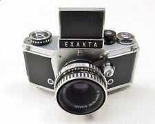 EXAKTA VX 1000 WITH ZEISS TESSAR  f2.8 50mm LENS