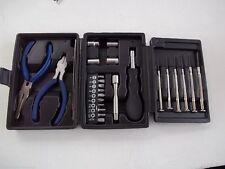 25 piece electronic tool set - pliers - screw drivers - tweezers etc 633876