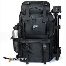 """Professional Waterproof DSLR Camera Backpack Shoulder Bag 17"""" Laptop Rucksack Ne"""