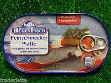(0,99 €/100g) FEINSCHMECKER PLATTE  Rügenfisch Ostprodukte !Rügen Fisch