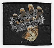 Judas Priest British Steel Woven Band Rock And Roll Heavy Metal Licensed Patch