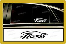 For Ford 2 x  `Club Fiesta`   - Decal Sticker any Bodywork!- one for each side!