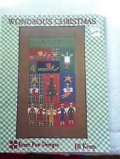WONDROUS CHRISTMAS PROJECT BOOK BY BEAR PAW DESIGNS