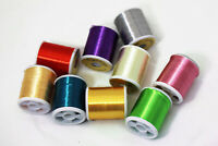 9 Colors 40 Yards Fly Tying Floss Thread 300D Silky Yarns fly fishing tying line