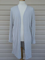 A New Day Women's Long Cardigan Lightweight Sweater Gray Black *Pick Your Size*