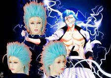 Bleach Arrancar Grimmjow Jeagerjaque cosplay wig