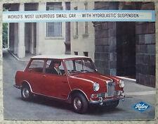 RILEY ELF Mk II Car Sales Brochure 1964-65 #H&E 6476